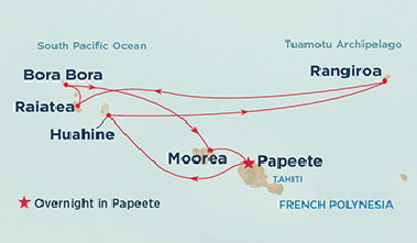 PacificPrincessItinerary